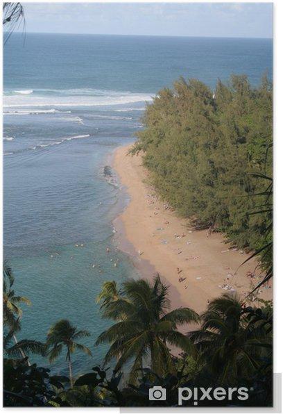 Plakat Hawaii Paradise - Wakacje