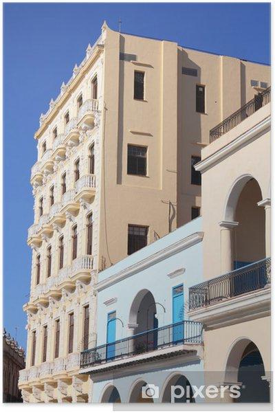 Plakat Hawana, Kuba - Plaza Vieja - Ameryka