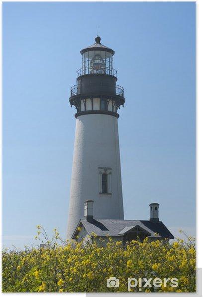 Plakát Head Lighthouse Yaquina, Newport, Oregon - Soukromé budovy