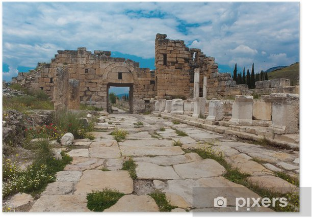 Plakát Hierapolis - Asie