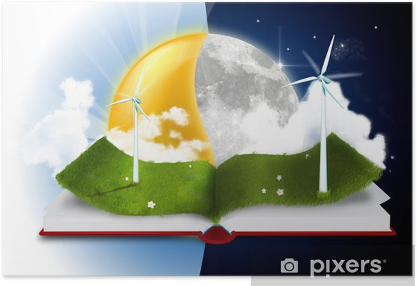 Plakat History Book - Ekologia