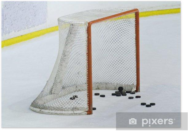 Plakat Hockey net - Sporty drużynowe