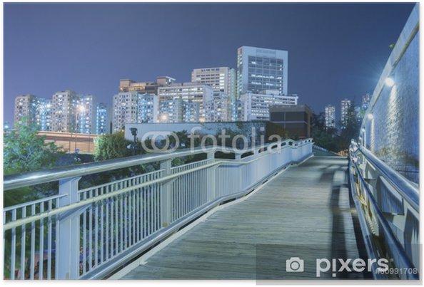 Plakat Hong Kong Miasta - Miasta azjatyckie