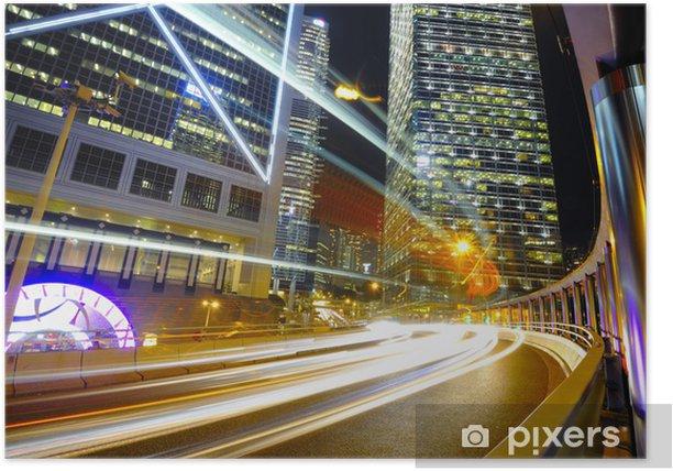 Plakát Hong Kong Noční scéna - Jiné