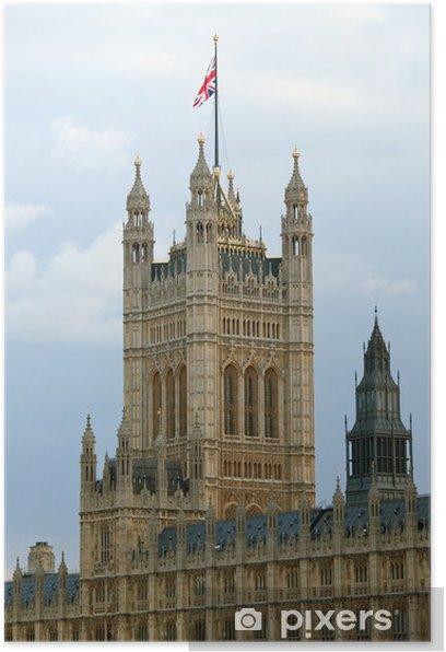 Plakat House of Parliament Londyn - Miasta europejskie