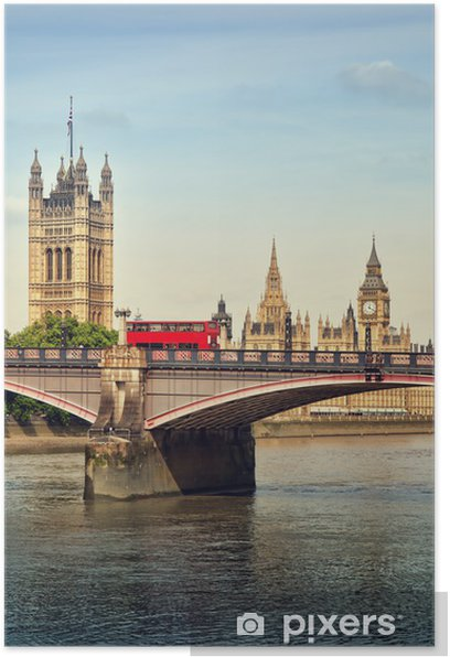 Plakat Houses of Parliament, London - Tematy