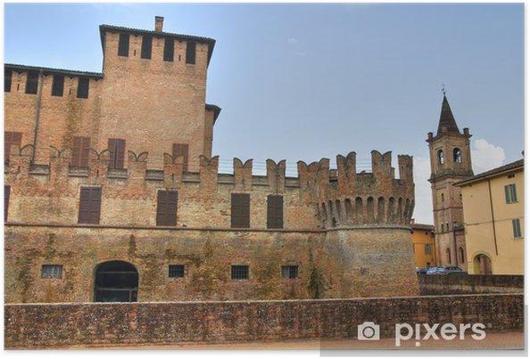 Plakát Hrad Fontanellato. Emilia-Romagna. Itálie. - Prázdniny