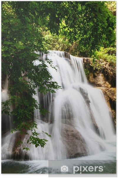 Plakat Huay Mae kamień wodospad w Tajlandii - Tematy