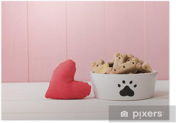 Plakat I Love My Dog koncepcji - Ssaki