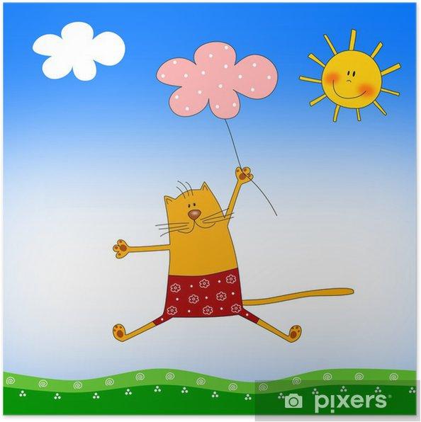 Plakát Ilustrace pro děti - Imaginární zvířata