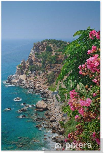 Plakát Impozantní Turecká riviéra pobřeží - Evropa