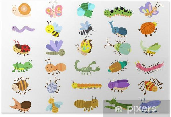 Plakat Insekt - Inne Inne
