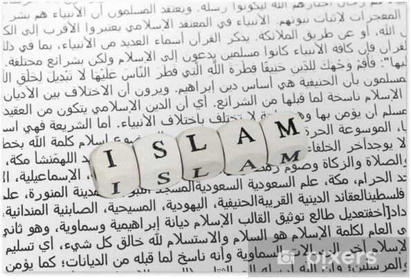 Plakát Islamkritik - Náboženství