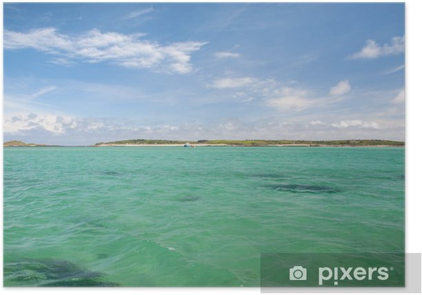 Plakat Isles of Scilly, Cornwall - Europa