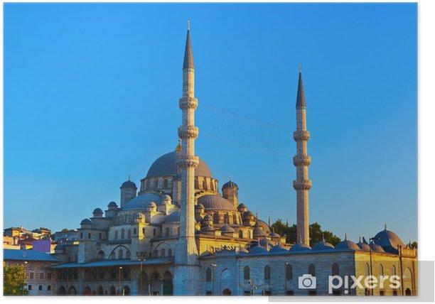 Plakat Istanbul słońca - Wakacje