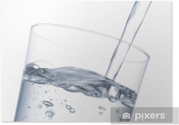 Plakat Ja leję wodę - Woda