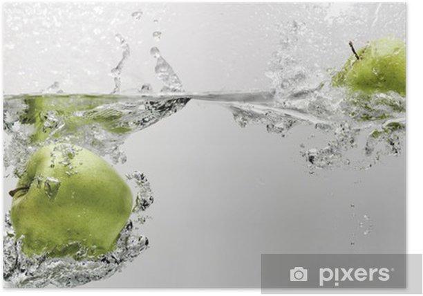 Plakat Jabłko - Słodycze i desery