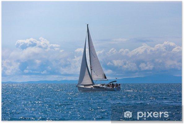 Plakat Jacht rekreacyjny na Adriatyku - Tematy