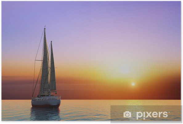 Plakat Jacht - Oceania