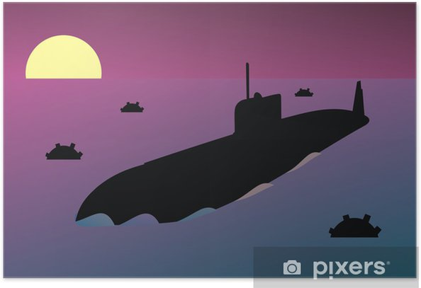 Plakát Jaderná ponorka - Úspěch