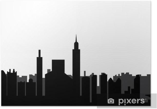 Plakát Jakarta skyline - Jiné