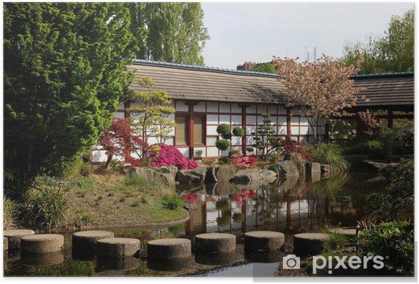 Plakát Japonská zahrada - Prázdniny