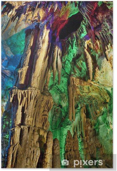 Plakat Jaskinie krasowe - Inne pejzaże