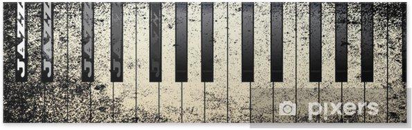 Plakát Jazz Style Piano - Klavír