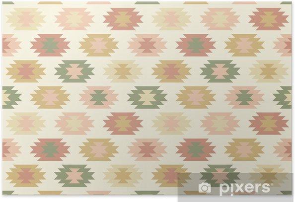 Plakat Jednolite wzór w stylu etnicznym # 1 - Style