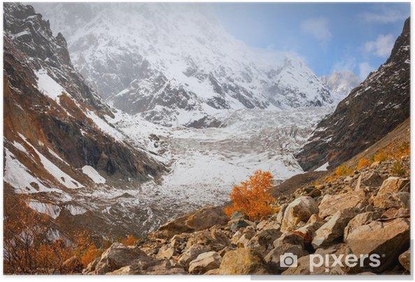 Plakat Jesień w Glacier - Tematy