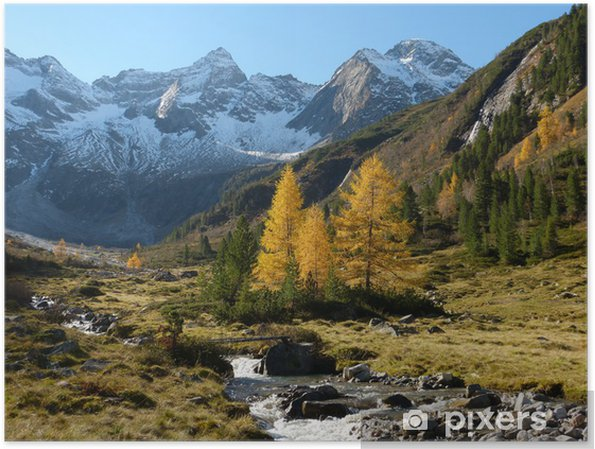 Plakat Jesień w górach - Tematy