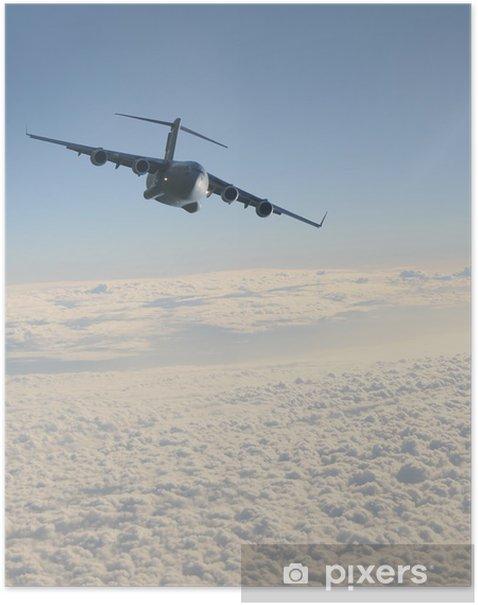Plakat Jet Cargo w locie - Tematy