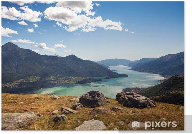 Plakat Jezioro Como (IT) - Europa