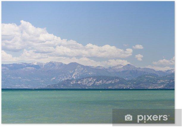 Plakat Jezioro Garda - Europa