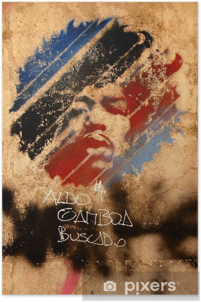 Plakat Jimi Hendricks sztuka ulicy - Tematy