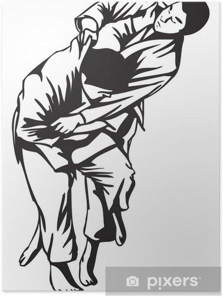 Plakát Judo boj - Extrémní sporty