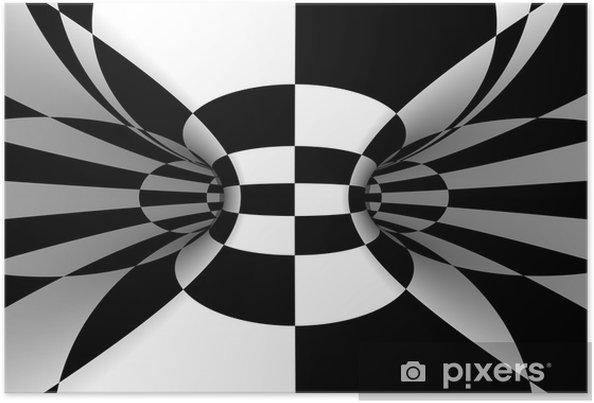 Plakát Kachlová abstraktní - Styly