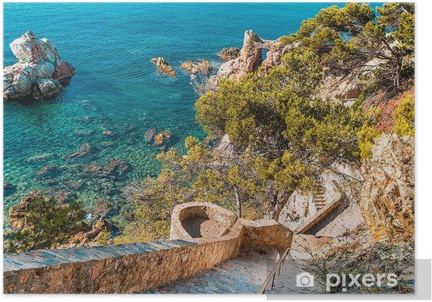 Plakát Kamenné schody - Evropa