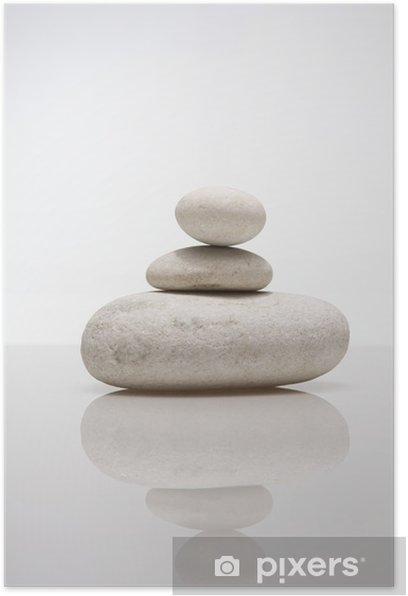Plakat Kamień piramidy - Abstrakcja
