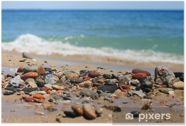 Plakat Kamienie morze - Europa