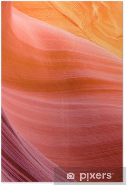 Plakat Kanion Antylopy niższa - Abstrakcja