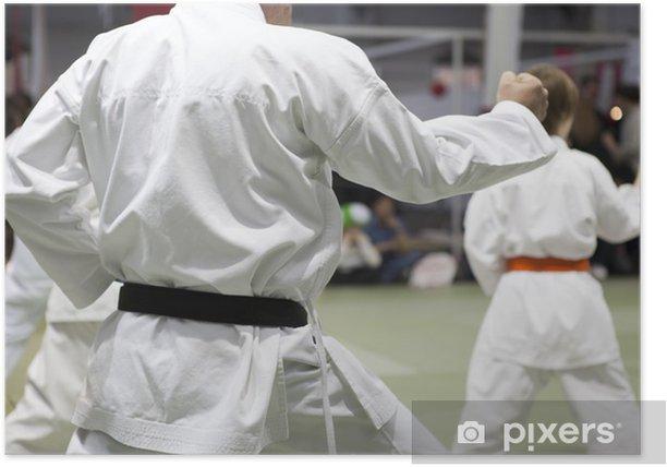 Plakát Karate slovo - Témata