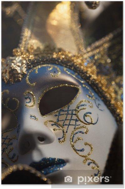 226fe9cb1 Plakát Karneval maska Benátky Itálie • Pixers® • Žijeme pro změnu