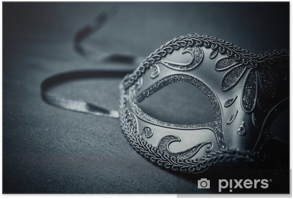 f9d0f29d5 Plakát Karneval maska • Pixers® • Žijeme pro změnu