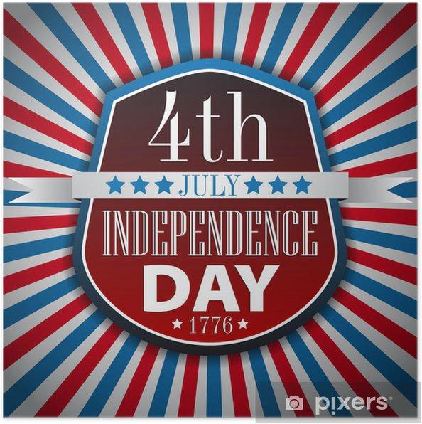 Plakat Karta Dzień Niepodległości Ilustracji Wektorowych W Formacie