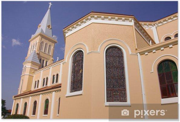 Plakat Katedra Dalat w Wietnamie - Azja