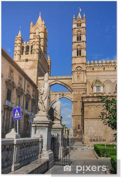 Plakat Katedra w Palermo, Sycylia - Europa