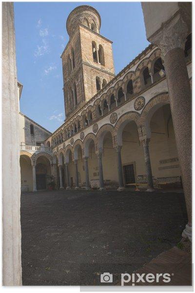 Plakát Katedrála Salerno: dvůr - Prázdniny