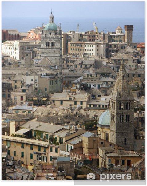 Plakat Kathedrale San Lorenzo i Genua - Europa
