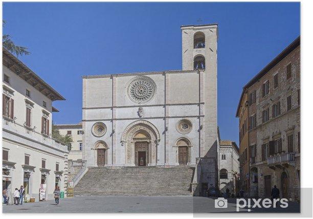 Plakat Kathedrale w Todi - Europa